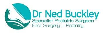 Ned Buckley Podiatric Surgeon Logo